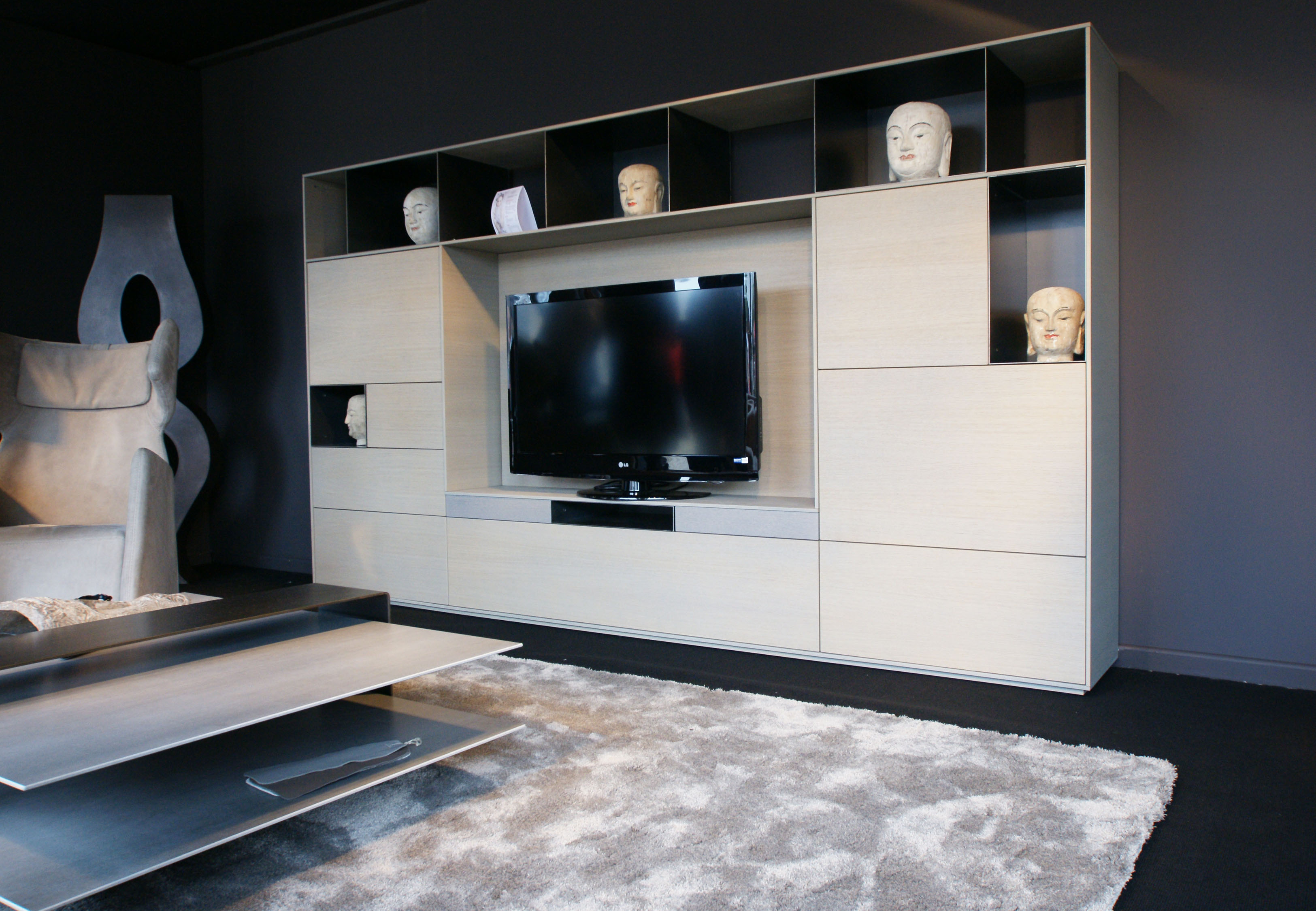 Contemporary Collection La Maison Rivet Lozano # Creation Meuble Tv